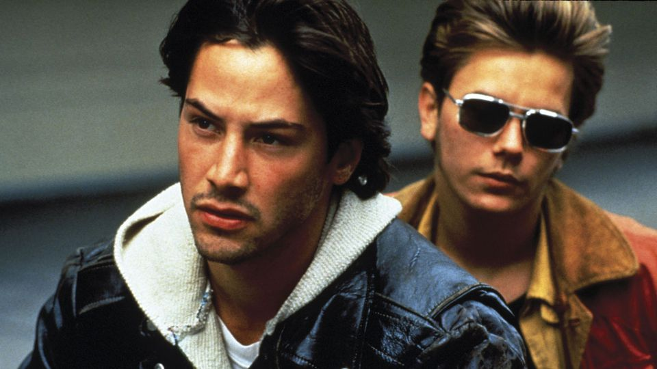 Keanu Reeves et River Phoenix, Crédit Photo: New Line Cinema, Gus Van Sant