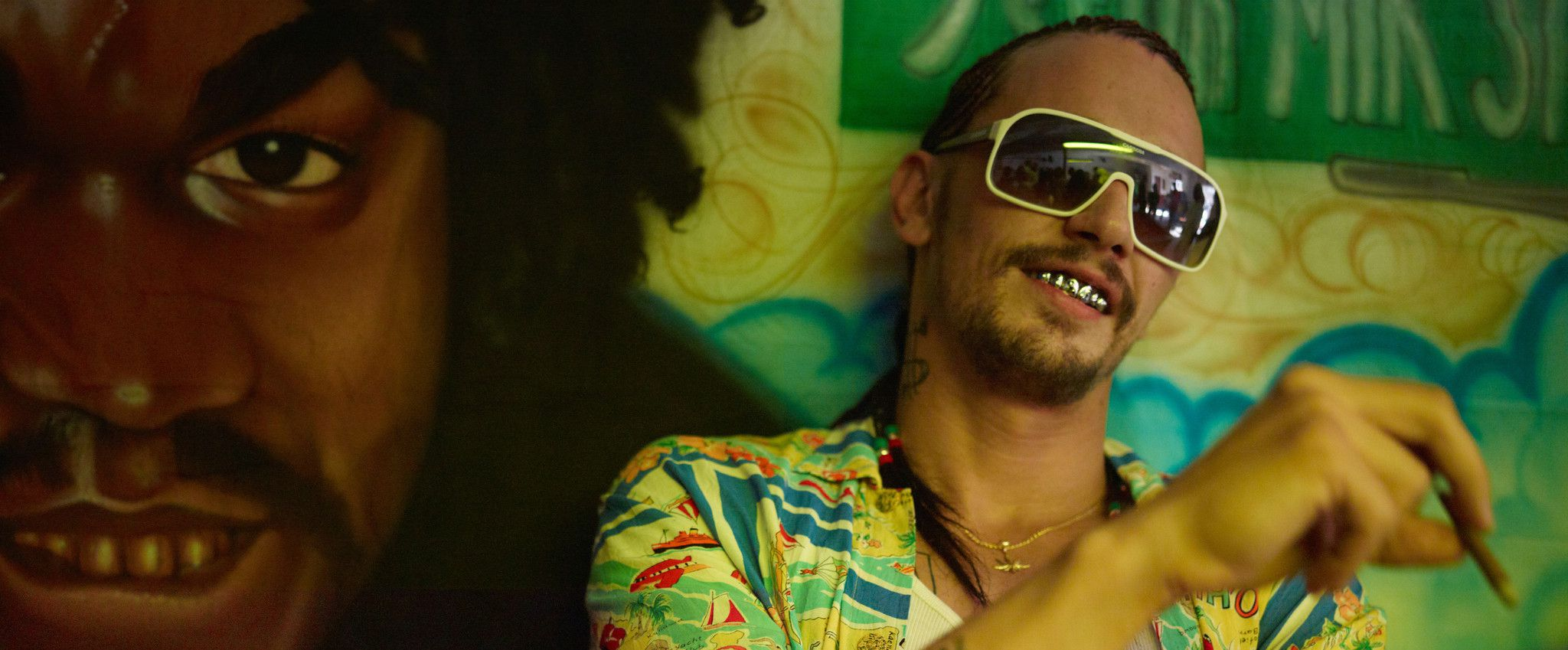 James Franco dans le film Spring Breakers. Crédit Photo: AP Photo/A24 Films, Michael Muller