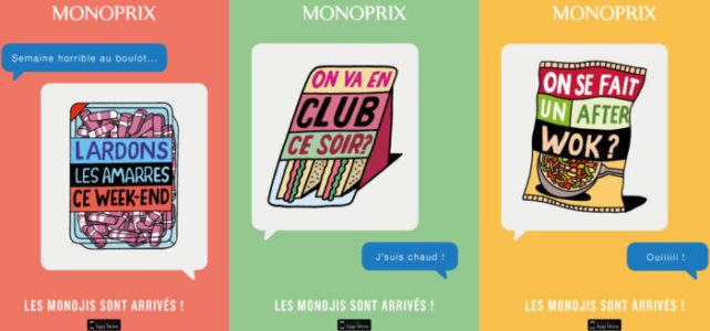 Monoprix présente… les monojis !